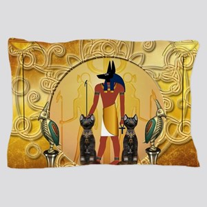 Anubis the god Pillow Case