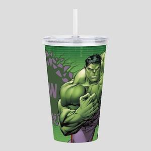 Hulk Monogram Acrylic Double-Wall Tumbler