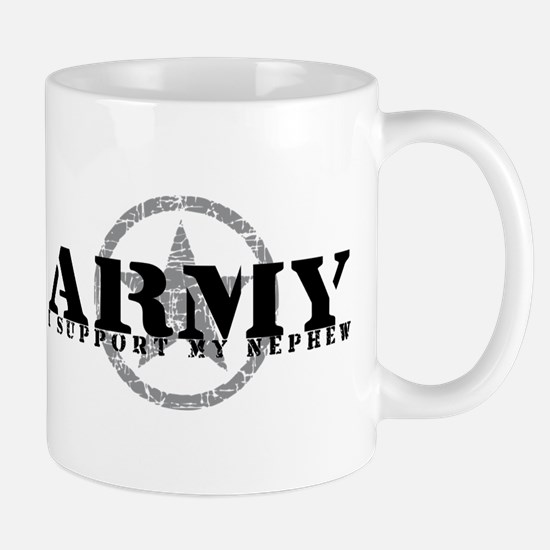 Army - I Support My Nephew Mug
