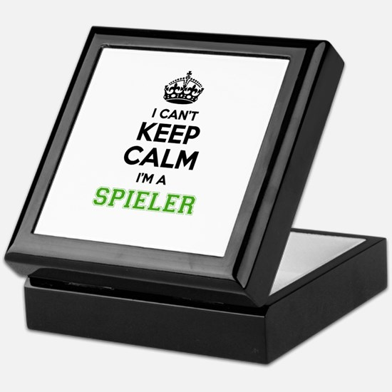 SPIELER I cant keeep calm Keepsake Box