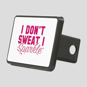 I Don't Sweat Rectangular Hitch Cover