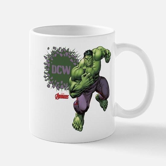 Hulk Monogram Personalized Mug