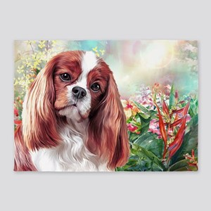 Cavalier King Charles Spaniel Painting 5'x7'Area R