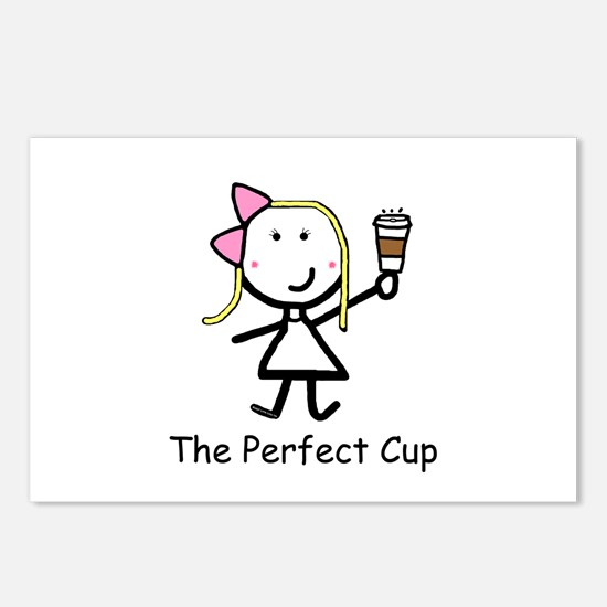 Coffee - Perfect Cup Postcards (Package of 8)