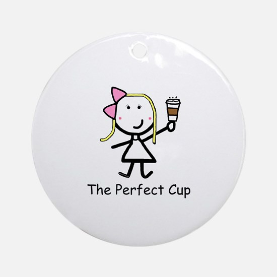 Coffee - Perfect Cup Ornament (Round)