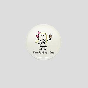 Coffee - Perfect Cup Mini Button