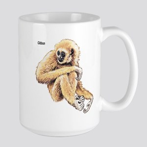 Gibbon Ape Large Mug