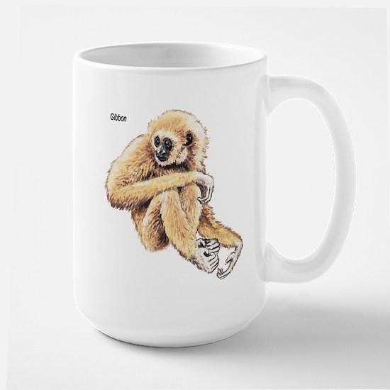 Gibbon Ape Large Mug
