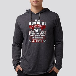 Truck Driver T Shirt Long Sleeve T-Shirt