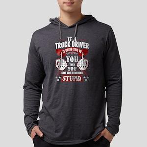Truck Driver T Shirt Long Sleeve T-Shirt