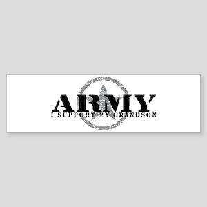 Army - I Support My Granson Bumper Sticker