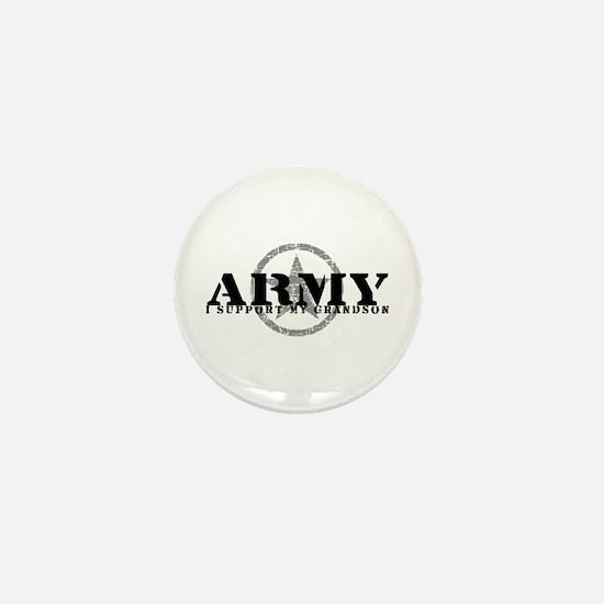 Army - I Support My Granson Mini Button