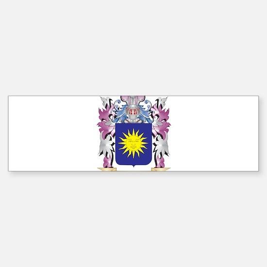 Bello Coat of Arms (Family Crest) Bumper Bumper Bumper Sticker