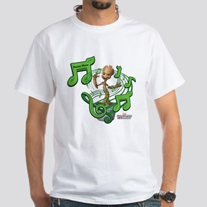 GOTG Personalized Musical Groot White T-Shirt