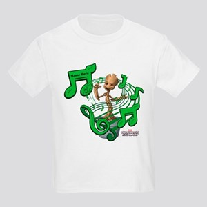 GOTG Personalized Musical Groot Kids Light T-Shirt