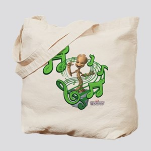 GOTG Personalized Musical Groot Tote Bag