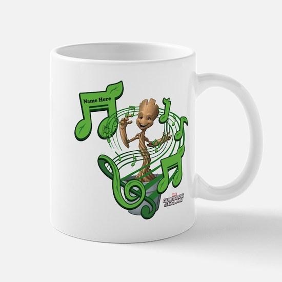 GOTG Personalized Musical Groot Mug
