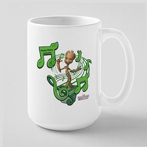 GOTG Personalized Musical Groot Large Mug