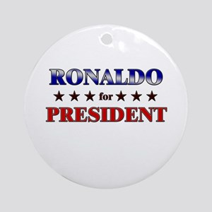 RONALDO for president Ornament (Round)