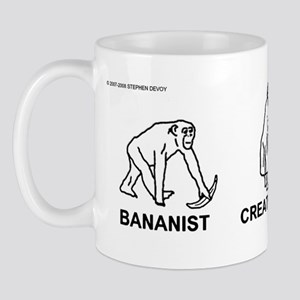 Bananist/Creationist/Evolutio Mug