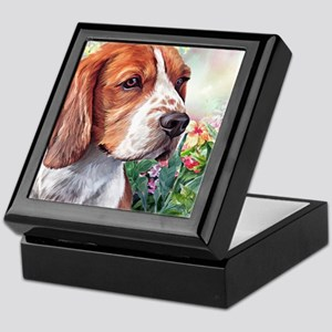 Beagle Painting Keepsake Box