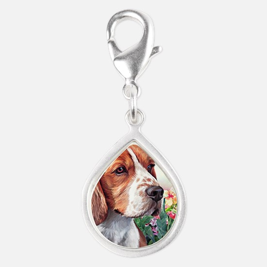 Beagle Painting Charms