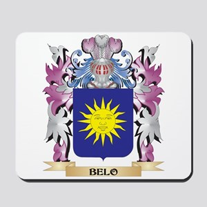 Belo Coat of Arms (Family Crest) Mousepad