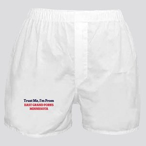 Trust Me, I'm from East Grand Forks M Boxer Shorts