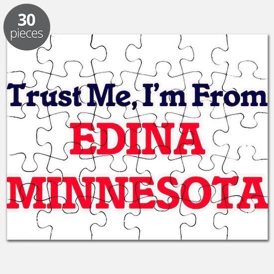 Trust Me, I'm from Edina Minnesota Puzzle