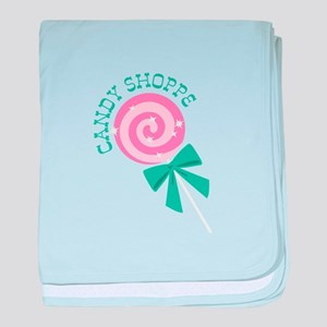 Candy Shoppe baby blanket
