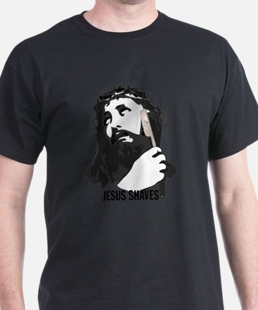 Jesus Shaves T-Shirt