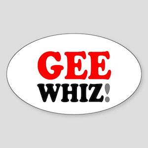 GEE WHIZ! Sticker