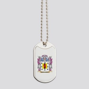 Benavides Coat of Arms (Family Crest) Dog Tags