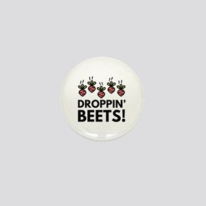 Droppin' Beets! Mini Button