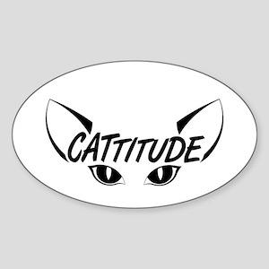 Cattitude-Eyes Sticker
