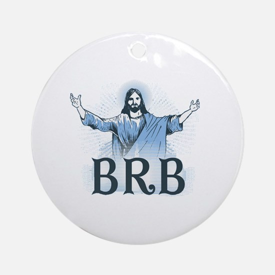 Cute Catholic Round Ornament