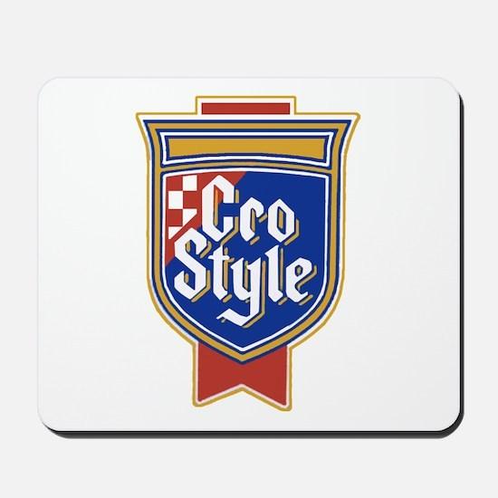 Cro Style Mousepad