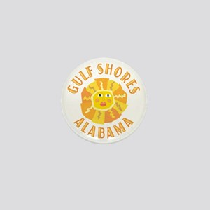 Gulf Shores Sun - Mini Button