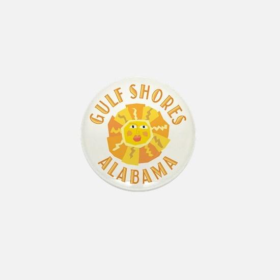Gulf Shores Sun - Mini Button