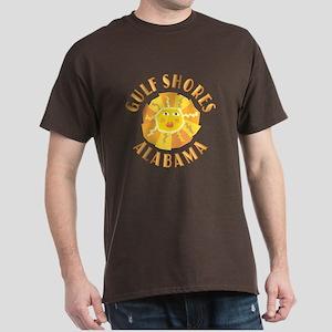 Gulf Shores Sun - Dark T-Shirt