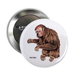 Red Uakari Monkey Button