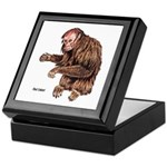 Red Uakari Monkey Keepsake Box