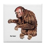 Red Uakari Monkey Tile Coaster