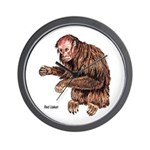 Red Uakari Monkey Wall Clock