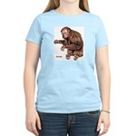 Red Uakari Monkey (Front) Women's Pink T-Shirt