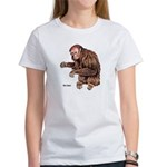 Red Uakari Monkey (Front) Women's T-Shirt