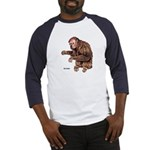 Red Uakari Monkey (Front) Baseball Jersey