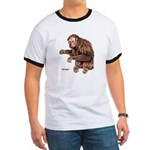 Red Uakari Monkey Ringer T