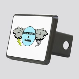 Meteorologist in Training Rectangular Hitch Cover