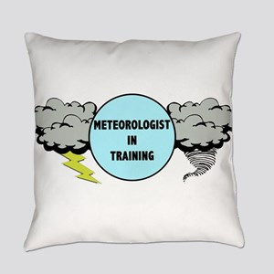 Meteorologist in Training Everyday Pillow